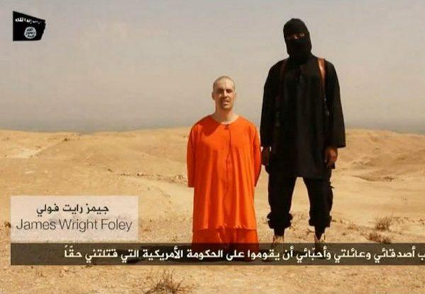 ההוצאה להורג של ג'יימס פולי. צילום: מתוך הסרטון