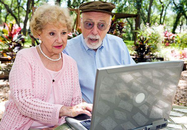 מיומנויות מחשב - גם לגיל השלישי. צילום אילוסטרציה: BigStock