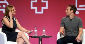מארק צוקרברג אתמול (ב') בכנס. צילום: אתר הוועידה