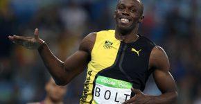 התמונה שזכתה למדליית הזהב. יוסיין בולט. צילום: Getty Images