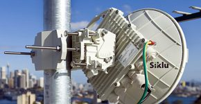 """מערכת גלים מילימטריים של סיקלו תקשורת במרכז סידני, אוסטרליה. צילום: יח""""צ"""