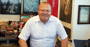 """מיכאל טייר, לשעבר משנה למנכ""""ל בנק ירושלים. צילום: פלי הנמר"""