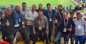 """בתמונה: יוסי כהן, מנכ""""ל CMS; רצון אחיטל, מנהל מוצר Dell-EMC לארגוני אנטרפרייז ב-CMS; אמיר פינקל, מנהל מכירות באקס גלוב; דניאל בלייך, טכנולוג בכיר באקס גלוב; עידן אופיר, מכירות קום מדיה; יהב מאיו, מנהל מכירות באינפורמט; ינון גולן, מנהל מכירות באול אין טרייד; שי בלומנפילד, מנכ""""ל אספירקום; אדיר כהן, סמנכ""""ל Gns; ליאור גולן, סמנכ""""ל יעל תוכנה; ומוטי זמיר, סמנכ""""ל מכירות באואזיס. צילום: יח""""צ"""