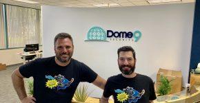 """זוהר אלון ורועי פינטוך, מייסדי DOME9. צילום: יח""""צ"""