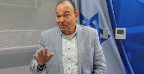 גיל וייזר, יו''ר ארגון ידידי מד''א בישראל. צילום: פלי הנמר