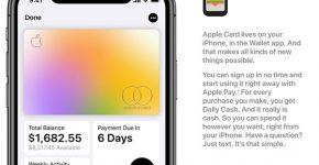 Apple Card. צילום: אפל