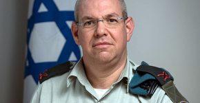 תת-אלוף רמי מלאכי, מפקד יחידת לוטם שבאגף התקשוב. צילום: דובר צה''ל
