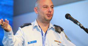 """רס""""ן ד""""ר דוד אלקחר, ראש תחום CTO בבח""""א 108. צילום: ניב קנטור"""