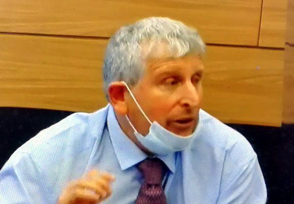 """ד""""ר מישל סטרבצ'ינסקי, מנהל מחלקת המחקר של בנק ישראל. צילום מסך"""