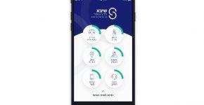"""אפליקציית שיבא החדשה. צילום: יח""""צ"""