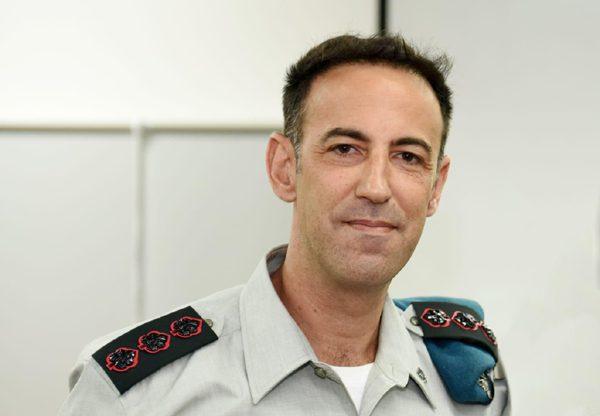 """ליאור פיינה, ראש מחלקת מעו""""ף באגף התקשוב. צילום: דובר צה""""ל"""