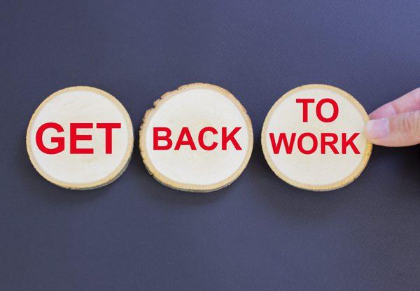 חזרה לעבודה - אבל לא בהכרח במשרה הקודמת. צילום אילוסטרציה: BigStock